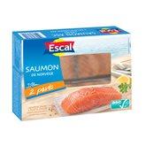 Escal Pavés de saumon Escal ASC - 2 parts - 250g