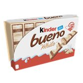 Kinder Barres chocolatées Kinder Bueno White - 12x2 barres - 468g