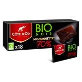 Côte d'Or Tablette Bio Côte d'Or Mignonnette noir 70% - 180g