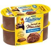 Nestlé Secret de mousse La Laitière Chocolat au lait - 4x59g