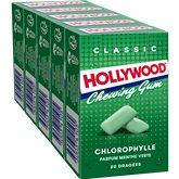Hollywood Chewing-gum Hollywood Chlorophylle 5x28g