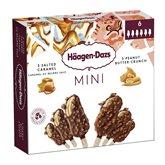 Häagen-Dazs Mini batonnets Haagen-dazs Caramel peanuts - x6