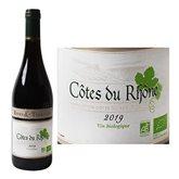 Rives et Terrasses AOC Côtes du Rhône Vin rouge Bio - Rives & Terrasses - 75cl