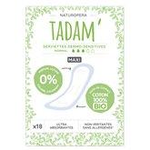 Tadam' Serviettes Maxi normal Tadam Dermosensitives - x18