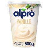 Alpro Dessert végétal soja Alpro Vanille - 500g