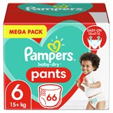Pampers Culottes Pampers Baby Dry Taille 6 15kg+ - x66