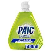 Paic  Liquide vaisselle Paic Excel+ Destructeur d'odeur - 500ml