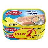 Saupiquet Filets de thon Saupiquet x2 - 115g