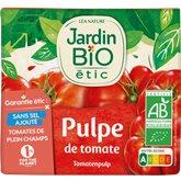 Jardin Bio Pulpe de tomate Jardin Bio Bio - 500ml