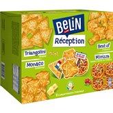 Belin Crackers Réception Belin Assortiment 4 saveurs - 2x380g