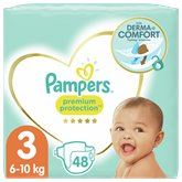 Pampers Couches Pampers Premium T3 - x48